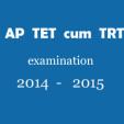 APDSC EXAMINATION 2014 -2015